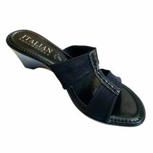 Italian Shoemakers Ladies' Open-Toe Heels, 8